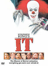 Stephen King It DVD Clown Horror Scary Drama Killer John Ritter Seth Green NIP