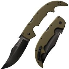 "Cold Steel Large Espada 5.5"" Carpenter CTS  Steel OD Green G10 Handle 62NGLVF"