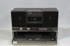 National Panasonic SG-J500 Stereo Music System Ghetto Blaster with Record Player