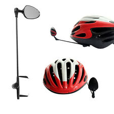 1Pc Bike Bicycle Cycling Rear View Helmet Motorcycle Rearview Mirror Safe Trendy