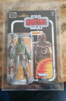 STAR WARS THE BLACK SERIES BOBA FETT 40TH ANNIVERSARY 6 INCH ACTION FIGURE TESB