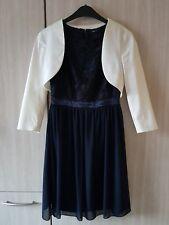 Festliches Kleid mit passendem Bolero