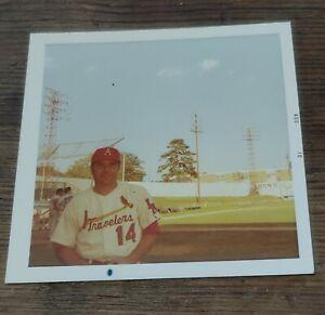 Original Minor League Baseball Photo 1970 Arkansas Travelers Ken Boyer Cardinals