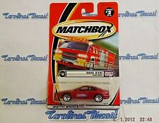 "2001 Matchbox #2 (red) ""BMW 850i"" w/Opening Doors ~ Daddy's Dreams ~ B6"