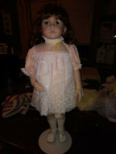 "Beautiful Handmade Girl Doll 28"" Tall"