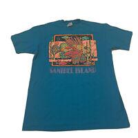 Vintage Single Stitch Hanes Beefy T Size Men's XL Tropical Sanibel Island FL