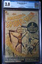 AMAZING SPIDER-MAN #1 CGC 2.0🔥