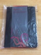 rooCASE LEATHER CASE COVER W/ STAND FOR ASUS TRANSFORMER PRIME TABLET BLACK NEW!