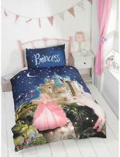 New Kids Glow in the Dark  Princess Fairy-Tale  Duvet Cover Set Single Size