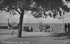 Foto AK Ostseebad Brunshaupten Weg zum Strand Echt Foto Postkarte vor 1945
