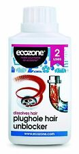ECOZONE plughole cheveux déboucheur 250ml