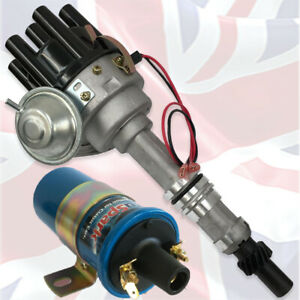 FORD Essex V6 2.5 and 3.0 Electronic Ignition Distributor plus Sports Coil