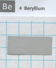 99.9% Beryllium Metal Foil 36x15x0.15mm X-ray window - Pure element 4 sample