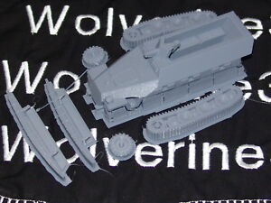 Flames Of War German 251/1 Ausf D Halftrack 1/72nd FREE SHIPPING