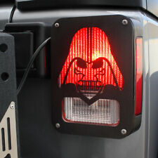Darthvader Aluminum Rear Tail Light Guard Covers For 2007 2018 Jeep Wrangler Jk