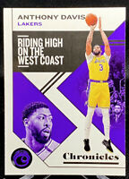 ANTHONY DAVIS 2019-20 Panini Chronicles Chronicles Base Card #16 Lakers