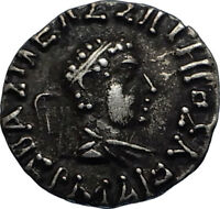 HERMAIOS 105BC Indo Greek Kingdom in India Ancient Silver Coin ZEUS i66738