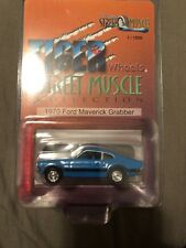 Tiger Wheels Blue 70 Ford Maverick Grabber