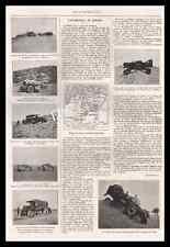 Anc.document  Sahara Autochenille Citroen  Renault Berliet Carterpillar 1927