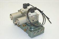 SMC Pneumatic Manifold,  NVS4124-0052DP Air Valve, 2-Position, 2-Valves