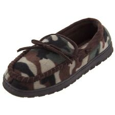 Camouflage Fleece Moccasion Slippers for Men