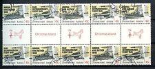 Christmas Islands 1995 SG#407-8 WW2 50th Anniv Cto Used Gutter Pair Strip#A50149