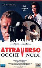 Attraverso occhi nudi (1984) VHS Columbia David Soul Jeffrey Bloom J.M. Moxey