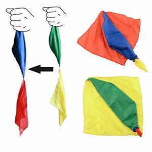 Kids Colour Changing Scarf Cloth Trick Advanced Parlor AU Kit Magician A9C5