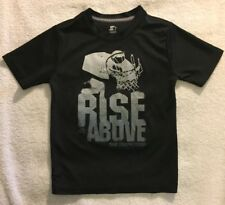 "Boys ""Starter"" Shirt Size S (6-7) ""Rise Above The Competition"" 100% Polyester"