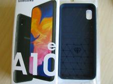 NEW Samsung Galaxy A10e +case! SM-A102U 32GB Charcoal Black T-Mobile Single SIM