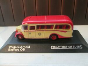 WALLACE ARNOLD BEDFORD OB  ATLAS 1-76 SCALE GREAT BRITISH BUS