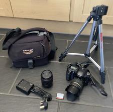 Canon EOS 10d DSLR + Canon 28-80mm + Tamron 17-50mm + Trípode + Bolso + 16GB