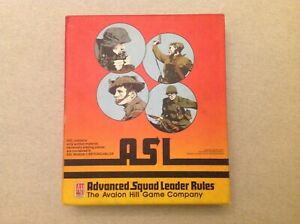 Advance Squad Leader (ASL) Rules binder by Avalon Hill 1st Edition