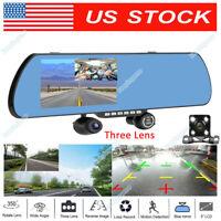 """5""""HD 1080P Rear View Mirror Camera 12MP CAR Recorder Dash Cam DVR Smartwild W940"""