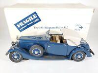 Danbury Mint 1934 Hispano Suiza J12 Diecast 1/24 Scale w/ Box