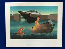 "Disney Cruise Line - ""Pocahontas Leads the Way"" Limited Edition Lithograph"