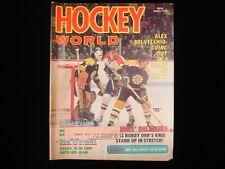 March 1973 Hockey World Magazine - Bobby Orr Cover