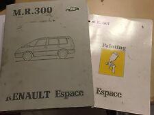 1991 RENAULT ESPACE MPV OEM BODYWORK FACTORY WORKSHOP MANUAL CRASH REPAIR