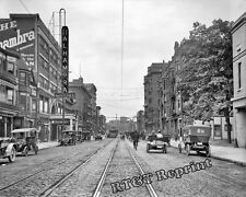 Photograph of Cleveland Ohio Euclid & 105th Street  Year 1911c     11x14