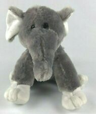 "Dan Dee Collectors Choice Elephant Plush 10"" Tall Sitting"