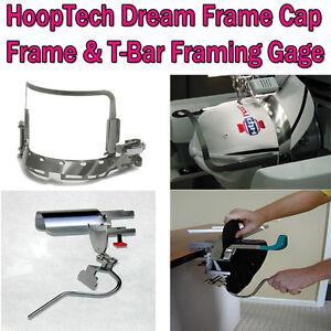 HoopTech Dream Frame Cap Frame & T-Bar Gage for Brother PR1000/PR1050 & BabyLock