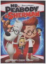 MR PEABODY AND SHERMAN (DVD, 2014) NEW