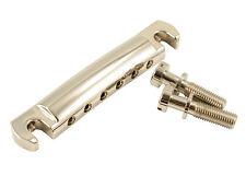 Kluson Wraparound Stopbar Tailpiece Stop Bar Tail Piece • Aluminium • Nickel