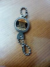 VINTAGE ADVERTISING KEY CHAIN APPLETON (WIS) BUILDING AND LOAN ASSOCIATION