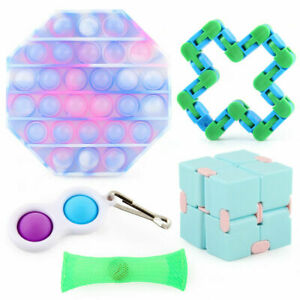 Fidget Toys Set 5 PCS Pack Toy ADHD Anti Anxiety Stress Relief Adults Kids Child