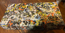 Jackson Pollock convergence puzzle Springbok 1968 complete