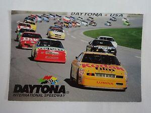 Vintage Daytona International Speedway Collector Postcard Nascar 5