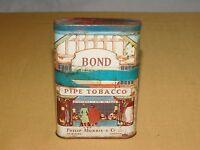 VINTAGE PHILIP MORRIS BOND STREET PIPE SMOKING TOBACCO TIN ****EMPTY******
