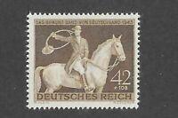 Nice MNH  stamp / 1943 Brown derby Horse race / Munich Germany / Third Reich