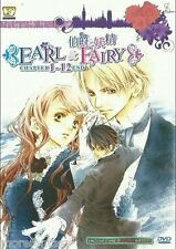 DVD Earl and Fairy Vol 1-12end + Tracking No.